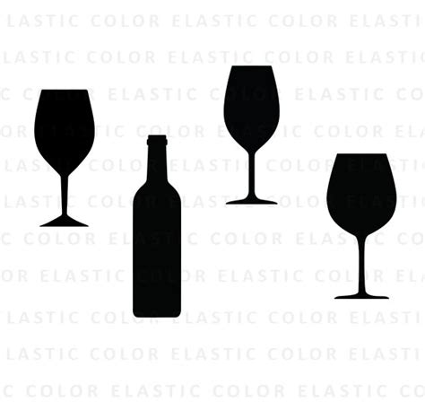 wine glass svg wine glass svg wine glasses clipart vector wine bottle