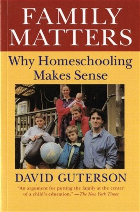 show me a story why picture books matter family matters why homeschooling makes sense by david
