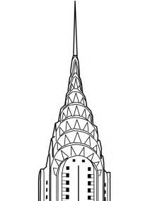 How To Draw Chrysler Building Chrysler Building Drawing Search Ideas