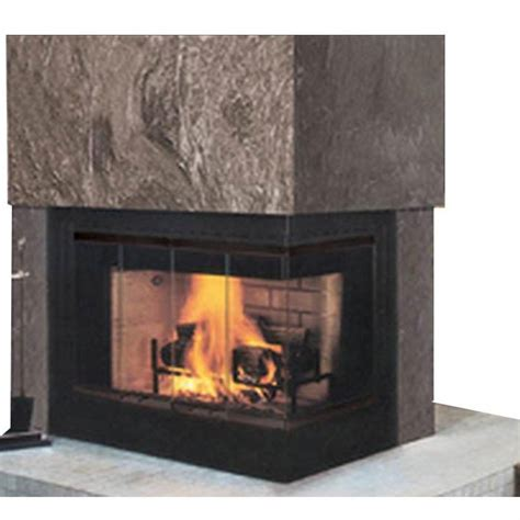 Corner Fireplace Insert by Corner Wood Burning Fireplace Neiltortorella