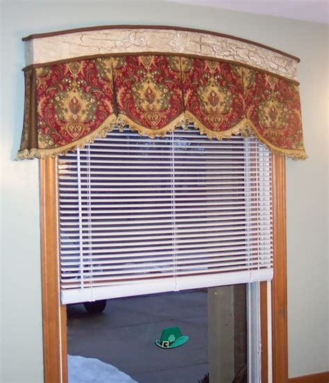 Box Valance For Sale Arch Box Pleated Valance Traditional Kitchen Chicago