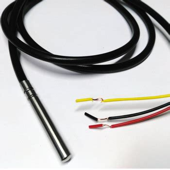 Stainless Steel Waterproof Ds18b20 Temperature Probe Sensor 18b20 5pcs lot ds18b20 stainless steel package 1 meters waterproof ds18b20 temperature probe