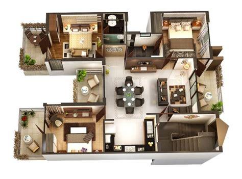 home design 3d second story planos de departamentos de 3 habitaciones construye hogar