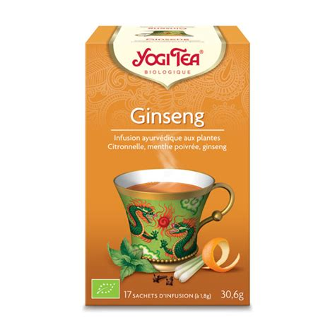 Ginseng Per Kg ginseng flower tao tea yogi tea shop at greenweez