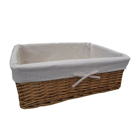 buy wicker storage basket from the basket