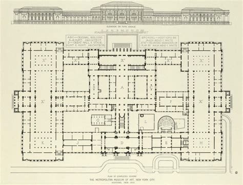 met museum floor plan what are the best architect project exles of ordered logical designs architecture