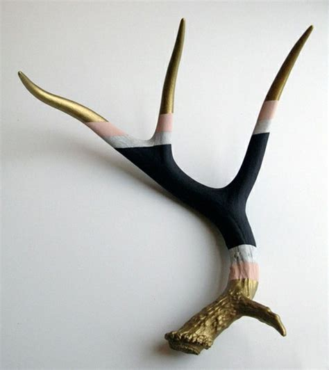 Naturally Shed Deer Antlers by Painted Naturally Shed Antler Home