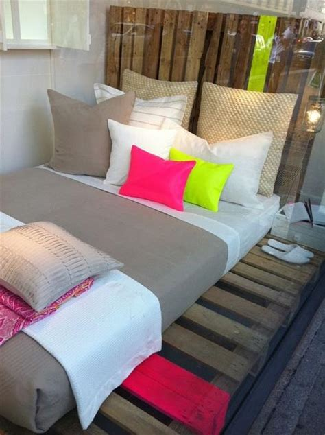 wood pallet bed frame how to make a diy pallet bed frame pallets designs