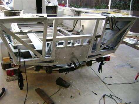 rebuild transom on aluminum boat aluminum welding