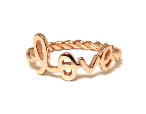 images of love rings love ring script letter love ring with twisted rope band