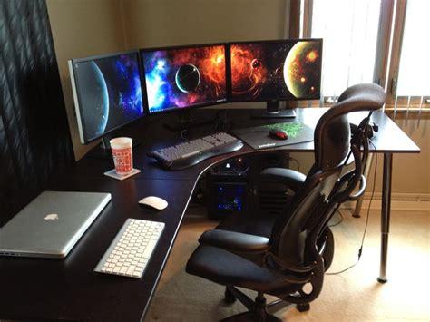 gaming office setup 8 best images about gaming computer desks on pinterest