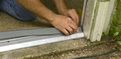 replace  entry door threshold todays homeowner