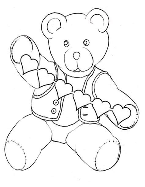 bear hug coloring pages kids korner free coloring pages valentine teddy bear hug