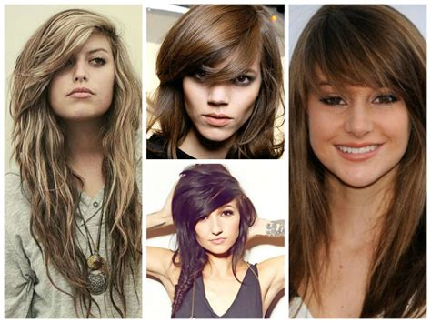 heavy side bang hairstyles the best layered bangs hairstyles hair world magazine