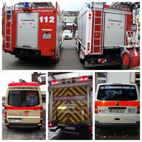 Aufkleber Rettungsgasse Bilden Kostenlos by Aktionstag Quot Rettungsgasse Bilden Quot Und Quot Keine Gewalt Gegen