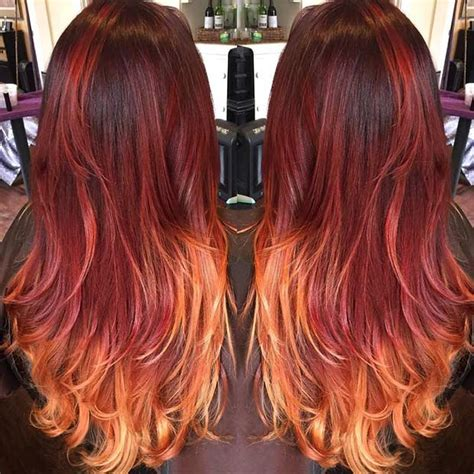 best drug store ombre hair dye 31 best red ombre hair color ideas stayglam