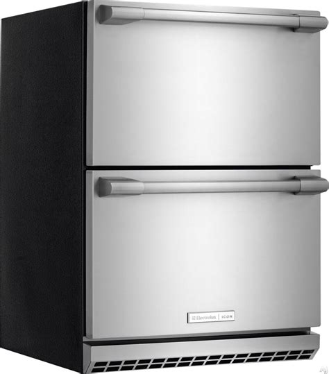 24 Inch Undercounter Refrigerator Drawers by Electrolux E24rd50qs 24 Inch Undercounter Built In