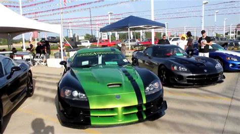 Tomball Jeep Viper Car Show At Tomball Dodge Viper Exchange