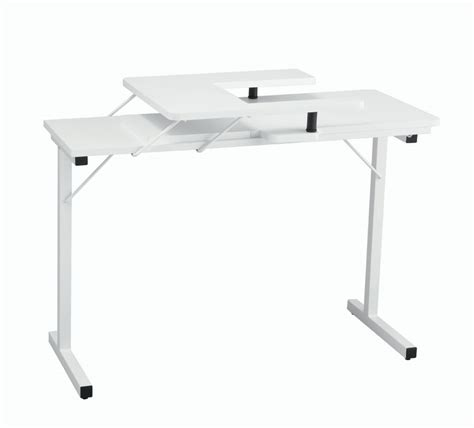 Folding Sewing Machine Table Inspira Folding Sewing Table White
