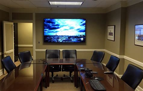 conference room tv voted 1 on wall and above fireplace tv mounting installation service