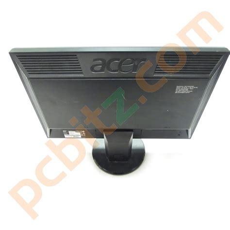 Monitor Lcd Acer V193hqv acer v193hqv 19 quot widescreen monitor black grade b ebay