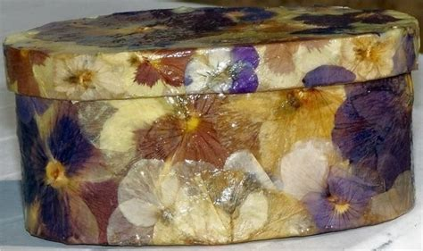 How To Decoupage A Cardboard Box - decoupage nature boxes 183 how to make a decoupage box