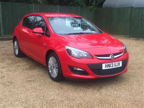 vauxhall red used red vauxhall astra for sale dorset