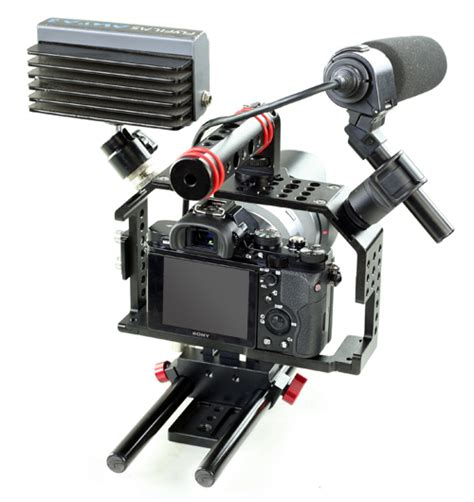 Tripod Dslr Excel movofilms a7g34 tripod mount cage with top handle