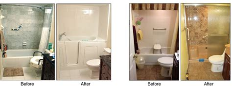Before And After Shower by Walk In Tubs Installation Shower Conversions Bath