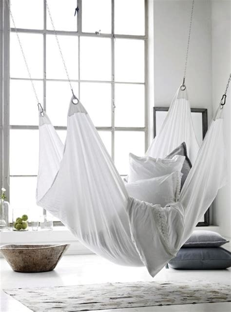 Hammock Bed Indoor by Hanging Bed Future Home Apartment Hanging