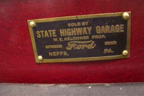 northern california ford dealers model t ford forum model t era dealer dash plaques