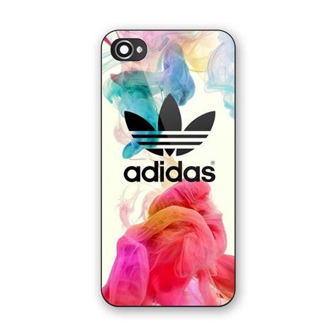 Nabila Jkt48 For Iphone 5c new adidas logo colorful smoke custom print on iphone 5