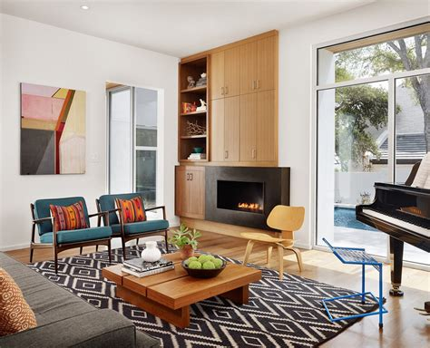 Mid Century Modern Living Room Ideas To Beautifully Blend Modern Side Chairs For Living Room