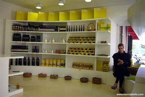 Shoo Olive olive shop in korcula