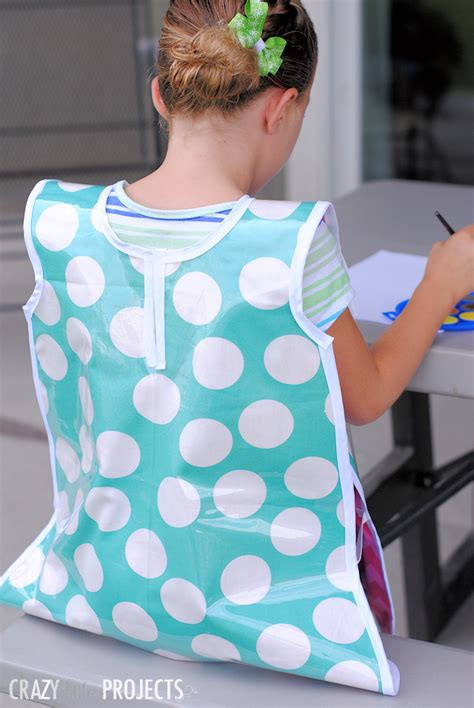 pattern for an art smock kids art smock pattern