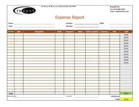 free expense report templates expense report and tracking template with company logo