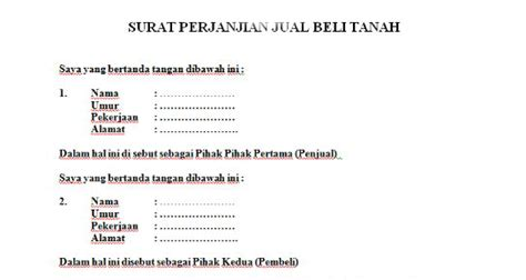 surat perjanjian rumah scribd the knownledge