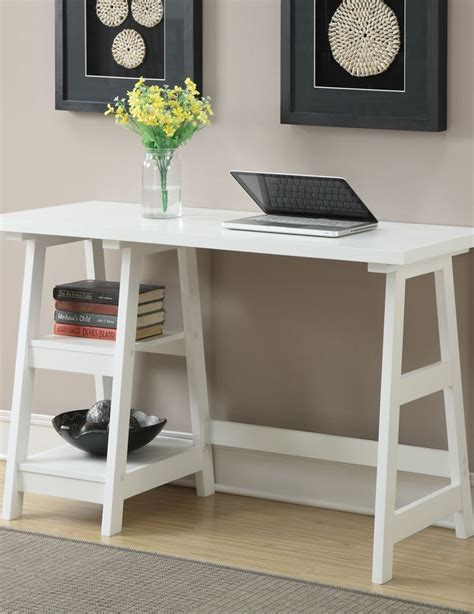 convenience concepts designs2go trestle desk best 25 trestle desk ideas on pinterest room tour
