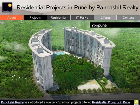 residential projects in boat club road pune panchshil realty presents the finest residential