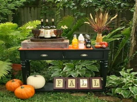fall backyard party ideas fall decorations ideas for outdoors fall garden party