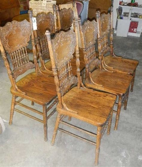 Pressed Back Chairs by Antique Pressback Chairs Antique Furniture