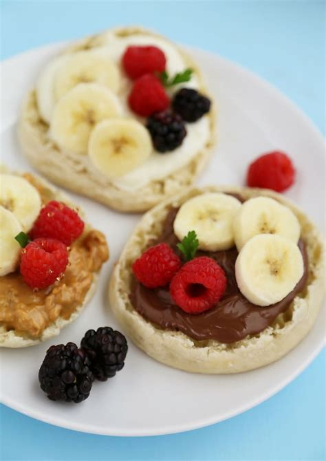 fruit muffins muffin fruit breakfast pizzas the comfort