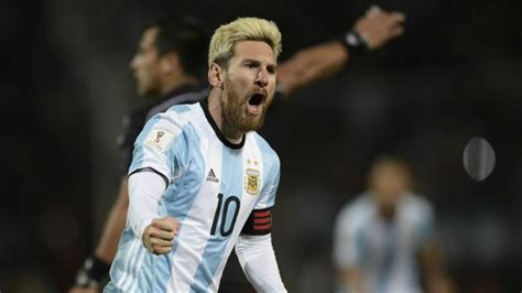 messi argentina messi scores winner as argentina beats uruguay in world