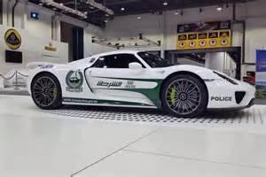 Porsche Dubai A Porsche 918 Spyder Is The Supercar To Join The