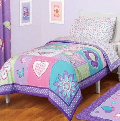 twin girl comforter reversible girls pink purple blue butterfly comforter
