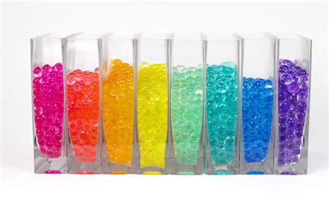 Crystal Vase Fillers Large Aqua Terra Water Beads Super Expanding Gel Vase