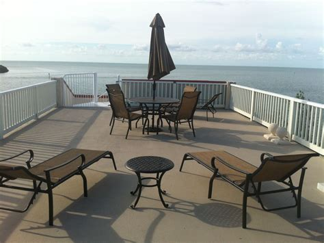 boat dock table and chairs luxury home with pool hot tub 50 dock homeaway