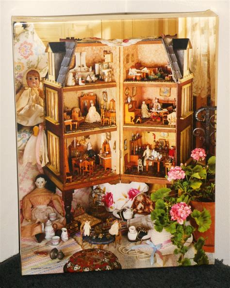 dollhouse factory memories in miniature 500 springbok jigsaw puzzle