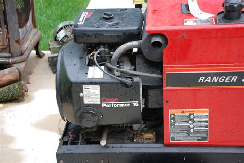 lincoln ranger 8 welder generator motorcycle review and