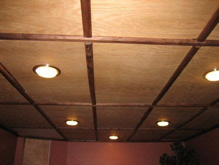 154 Best Images About Basement On Pinterest Penny Plywood Ceiling Ideas